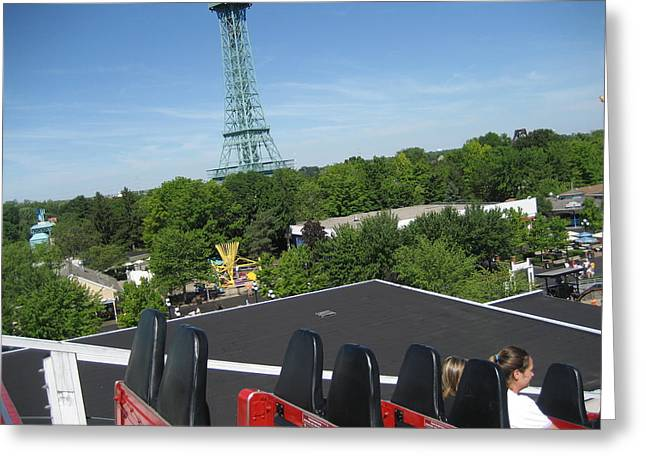 Mill Greeting Cards - Kings Island - 121229 Greeting Card by DC Photographer