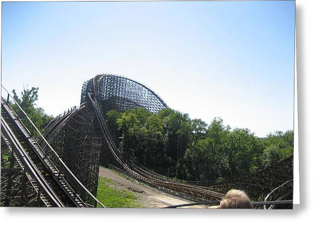 Ohio Photographs Greeting Cards - Kings Island - 12129 Greeting Card by DC Photographer