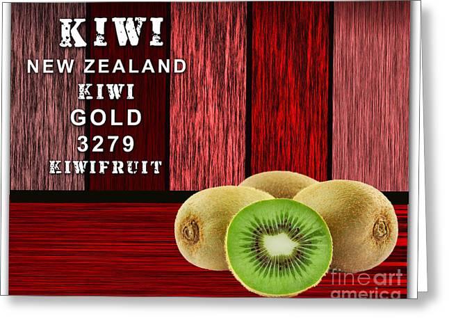 Kiwi Farm Greeting Card by Marvin Blaine