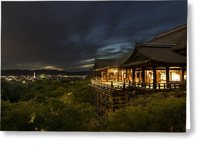 Japan Greeting Cards - Kiyomizu Dera Greeting Card by Greg Krycinski