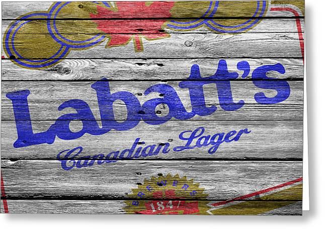 Saloons Greeting Cards - Labatt Greeting Card by Joe Hamilton
