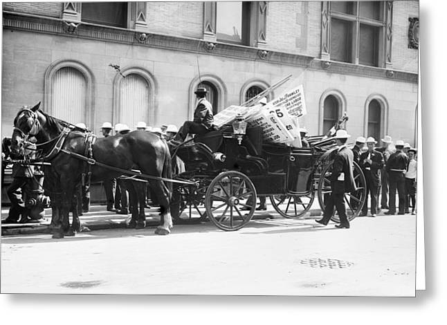 Labor Day Parade, C1908 Greeting Card by Granger
