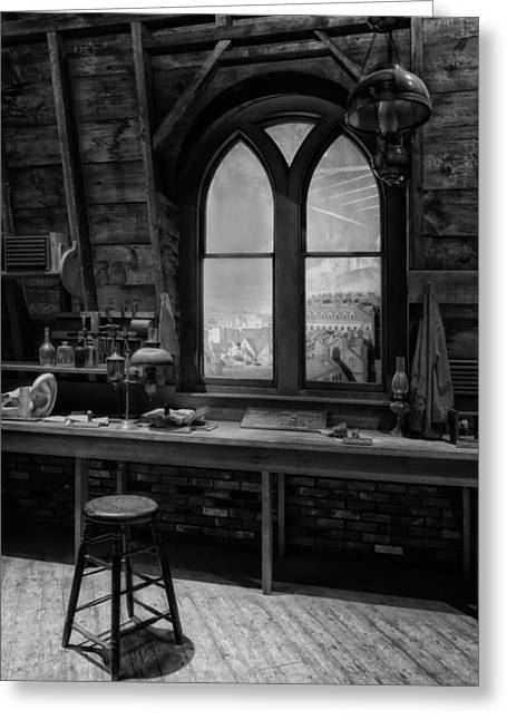Laboratory Of Alexander Graham Bell Greeting Card by Mountain Dreams
