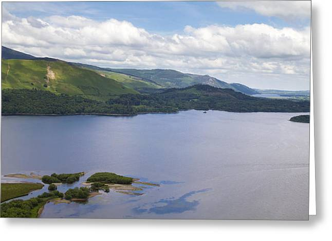 Jetty View Park Greeting Cards - Lake District Greeting Card by Chris Smith