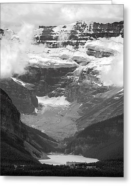 Alberta Prints Greeting Cards - Lake Louise Greeting Card by RicardMN Photography
