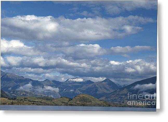 Aotearoa Greeting Cards - Lake Wanaka Greeting Card by Chris Selby