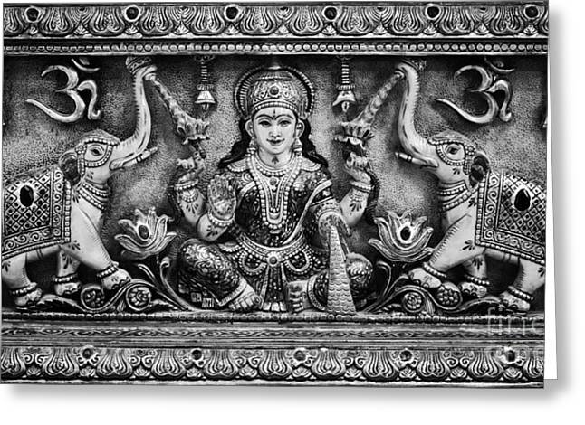 Hindu Goddess Photographs Greeting Cards - Lakshmi  Greeting Card by Tim Gainey