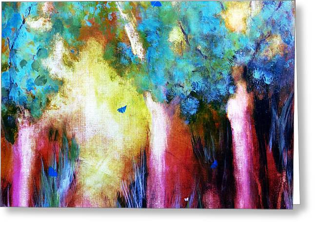 Subjective Greeting Cards - Landscape Greeting Card by Katie Black