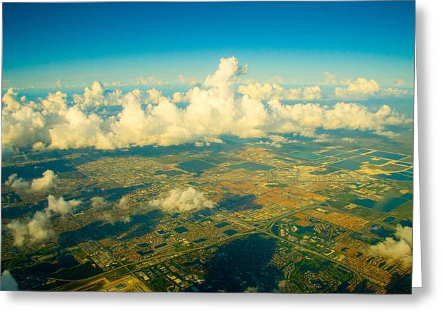Tranquil Scene Escapism Greeting Cards - Landscape view Greeting Card by Celso Diniz