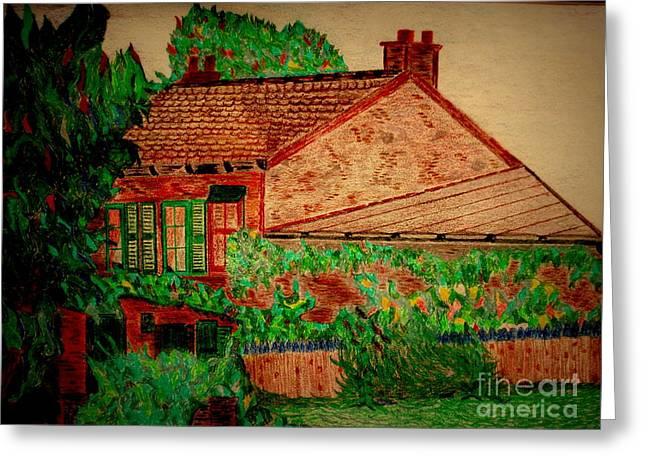 Cafe Pastels Greeting Cards - Lapin Agile Greeting Card by Bill OConnor