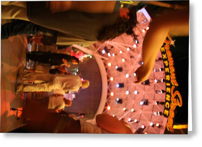 Freemont Greeting Cards - Las Vegas - Fremont Street Experience - 121217 Greeting Card by DC Photographer