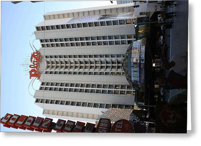 Game Greeting Cards - Las Vegas - Fremont Street Experience - 12129 Greeting Card by DC Photographer