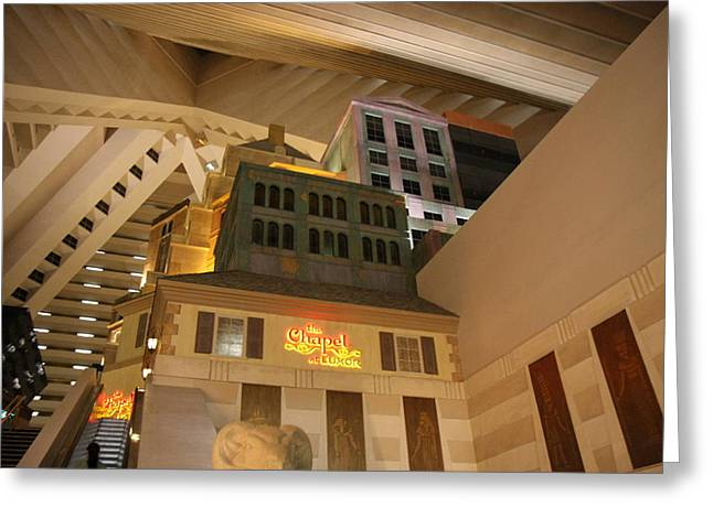 Luxor Greeting Cards - Las Vegas - Luxor Casino - 12123 Greeting Card by DC Photographer