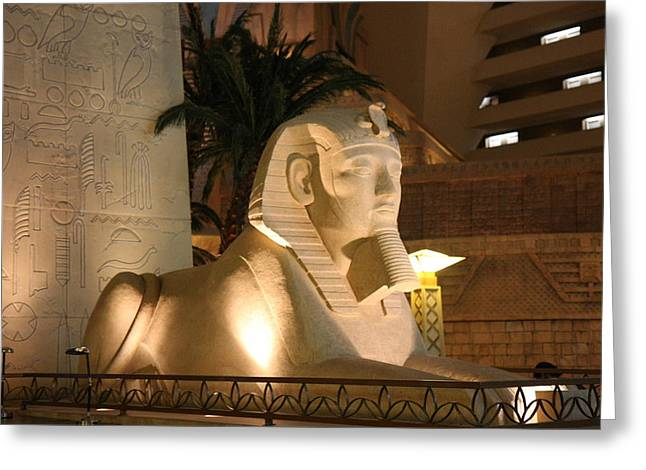 Egypt Greeting Cards - Las Vegas - Luxor Casino - 12125 Greeting Card by DC Photographer