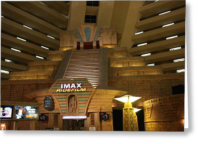 Luxor Greeting Cards - Las Vegas - Luxor Casino - 12126 Greeting Card by DC Photographer