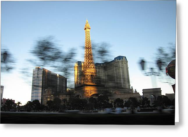 Balloon Greeting Cards - Las Vegas - Paris Casino - 12121 Greeting Card by DC Photographer