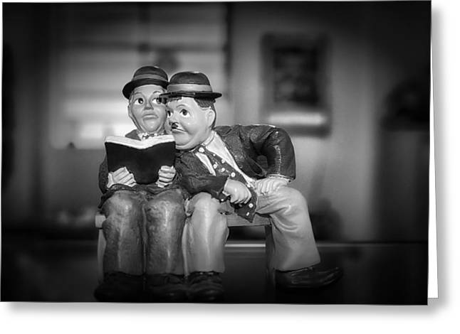 Laurel And Hardy Greeting Cards - Laurel and Hardy Greeting Card by Mountain Dreams