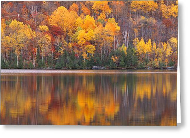 Colorful Photography Greeting Cards - Laurentide Quebec Canada Greeting Card by Panoramic Images