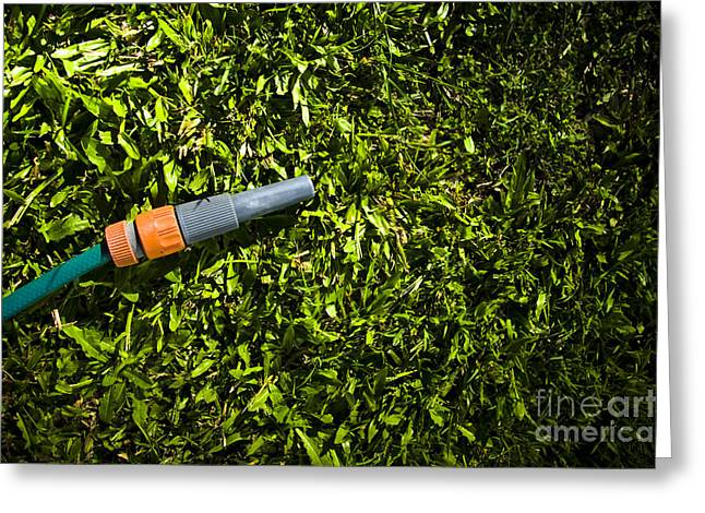 Lawn Maintenance And Garden Care Greeting Card by Jorgo Photography - Wall Art Gallery