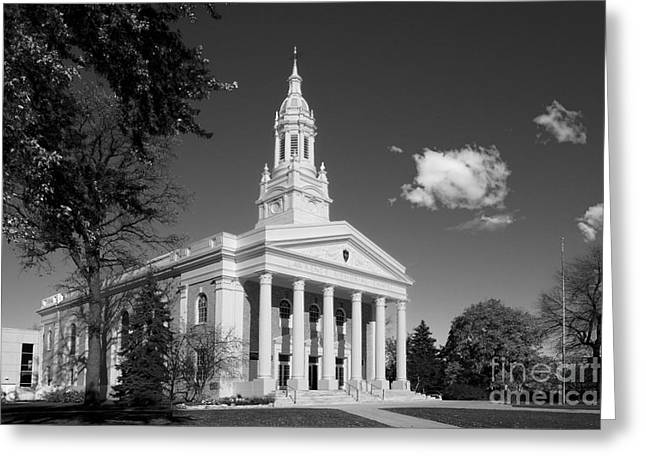 Lawrence Images Greeting Cards - Lawrence University Memorial Chapel Greeting Card by University Icons