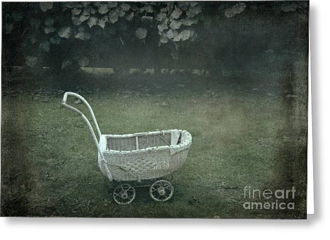 Abduction Digital Art Greeting Cards - Left behind Greeting Card by Bruce Stanfield