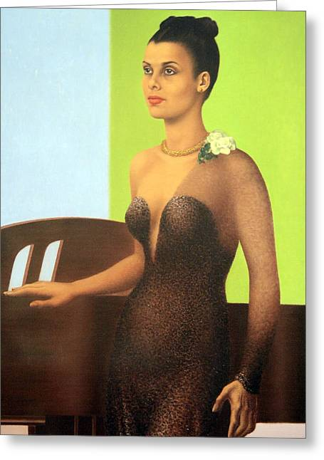 Lady Washington Greeting Cards - Lena Horne -- The Lady And Her Music Greeting Card by Cora Wandel