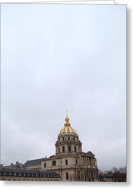 Early Greeting Cards - Les Invalides - Paris France - 01131 Greeting Card by DC Photographer