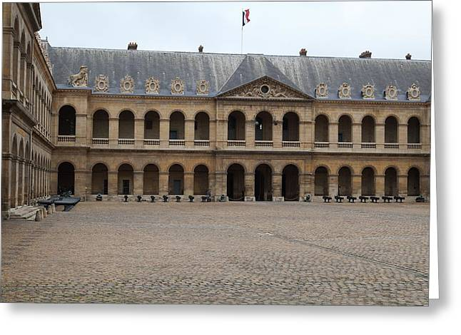Early Greeting Cards - Les Invalides - Paris France - 01137 Greeting Card by DC Photographer