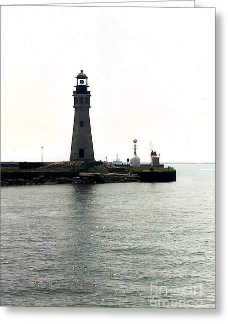 Esem8chart.com Greeting Cards - Light House Greeting Card by Sarah Holenstein