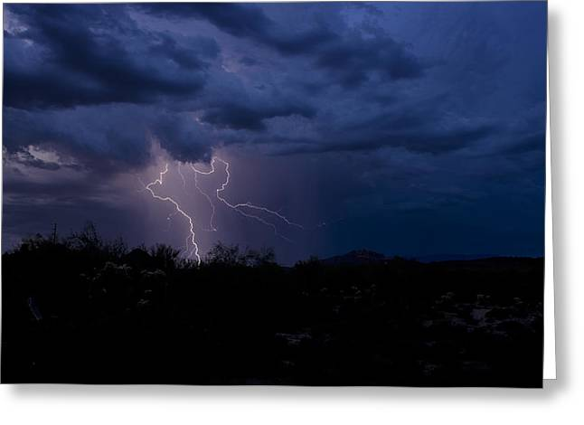 Photography Lightning Greeting Cards - Light Up the Sky  Greeting Card by Saija  Lehtonen