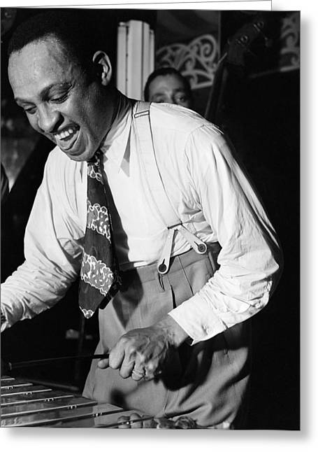 Lionel Hampton (1908-2002) Greeting Card by Granger