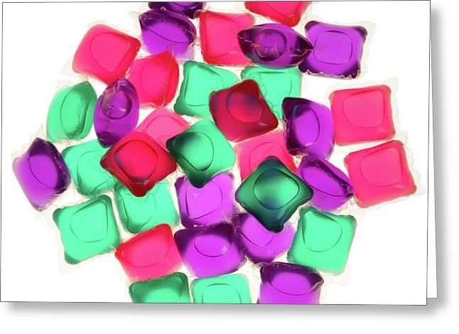 Liquid Washing Tablets Greeting Card by Public Health England