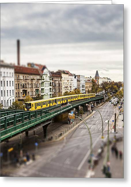 Movie Art Greeting Cards - Little Berlin Greeting Card by Yehuda Swed