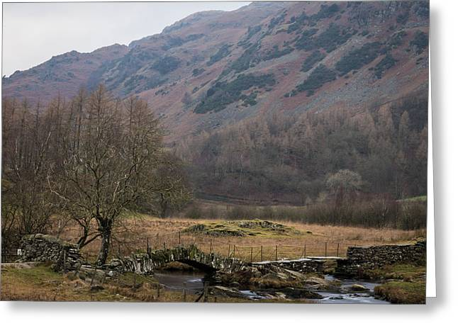 England Greeting Cards - Little Langdale. Greeting Card by Daniel Kay