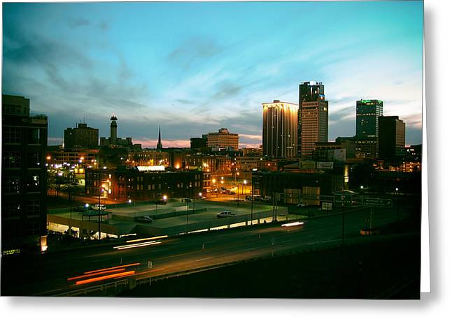Arkansas Greeting Cards - Little Rock Sunset Greeting Card by Bruce Stracener