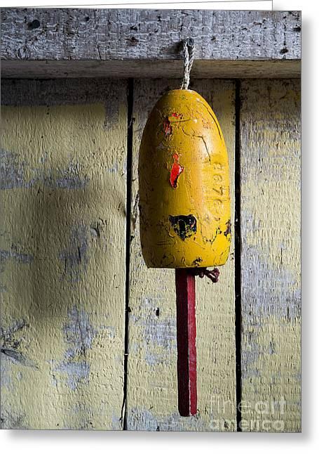Lobster Buoy Greeting Card by John Greim