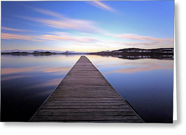 Scottish Scenic Greeting Cards - Loch Lomond Greeting Card by Grant Glendinning