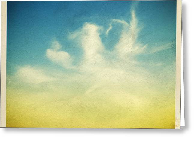 Air Photographs Greeting Cards - Lonely Seagull Greeting Card by Setsiri Silapasuwanchai