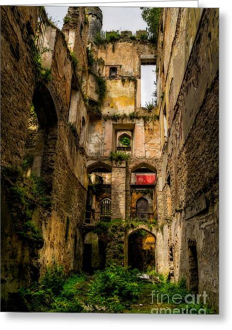 Doorway Digital Greeting Cards - Long Forgotten Greeting Card by Adrian Evans