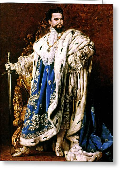 Louis II (1845-1886) Greeting Card by Granger