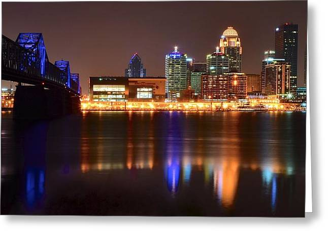 Louisville Kentucky Greeting Card by Frozen in Time Fine Art Photography