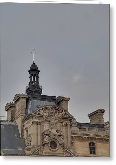 Glasses Photographs Greeting Cards - Louvre - Paris France - 01135 Greeting Card by DC Photographer