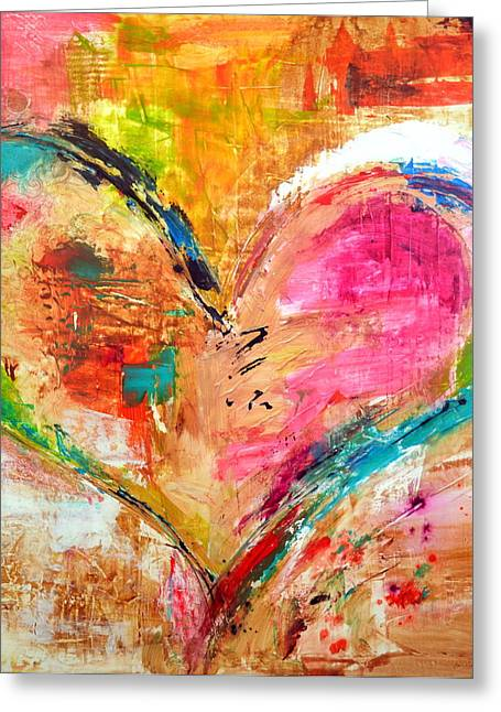 Family Love Greeting Cards - Love is Divine Greeting Card by Ivan Guaderrama