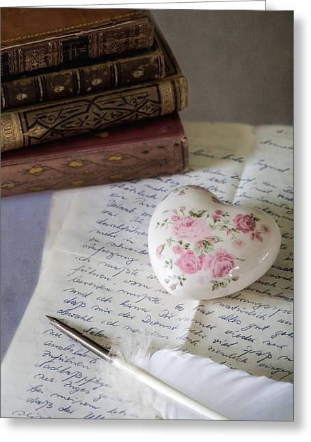 Love Letter Photographs Greeting Cards - Love Letter Greeting Card by Joana Kruse