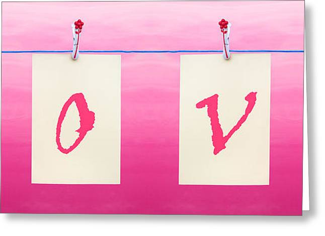 Blank Card Greeting Cards - Love Greeting Card by Semmick Photo