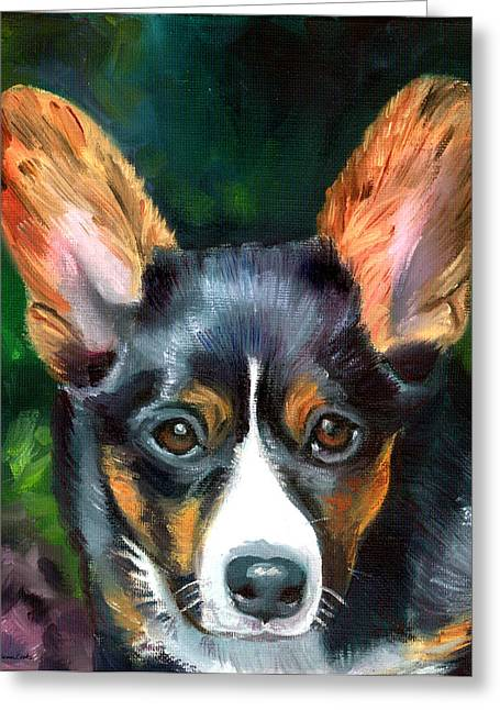 K9 Greeting Cards - Lovely Day Greeting Card by Lyn Cook