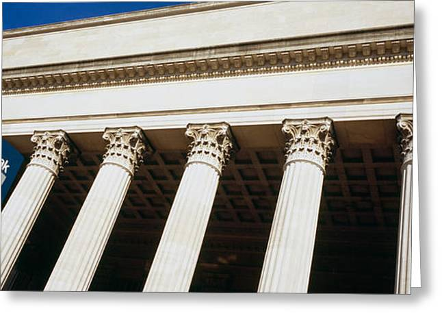 Script Greeting Cards - Low Angle View Of A Building, 30th Greeting Card by Panoramic Images