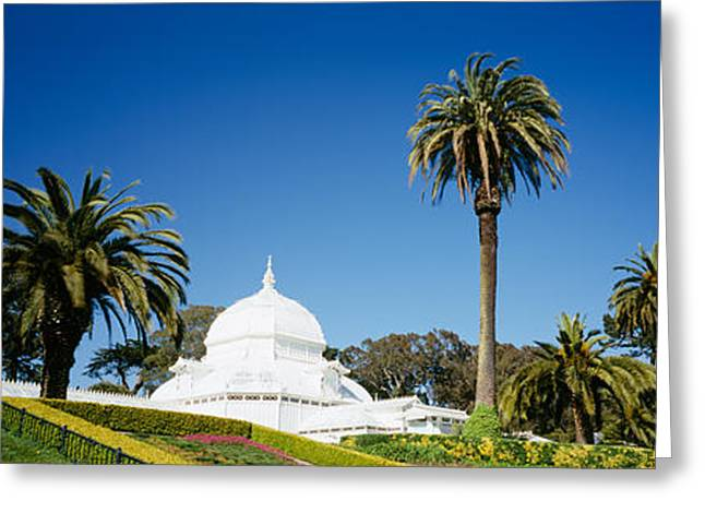 Golden Gate Park Greeting Cards - Low Angle View Of A Building Greeting Card by Panoramic Images