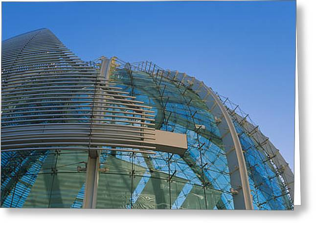 Silicon Greeting Cards - Low Angle View Of A City Hall, Downtown Greeting Card by Panoramic Images