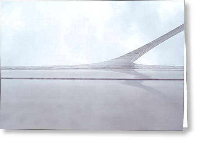 Contemporary Photography Greeting Cards - Low Angle View Of An Arch, Gateway Greeting Card by Panoramic Images
